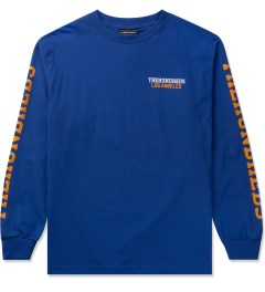 The Hundreds Royal Blue Sunnyside L/S T-Shirt Picutre