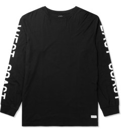 Stampd Black Coastal Long Sleeve T-Shirt Picutre