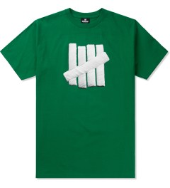Undefeated Green Embroidery Strike T-Shirt Picutre