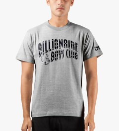 Billionaire Boys Club Grey YNKS T-Shirt Model Picutre