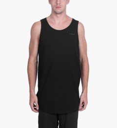 Publish Black Terwyn Oversized Length Tank Top Model Picutre