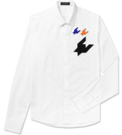 KRISVANASSCHE White Classic Patches Shirt Picutre