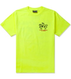 The Hundreds Safety Green Double Palm T-Shirt Picutre