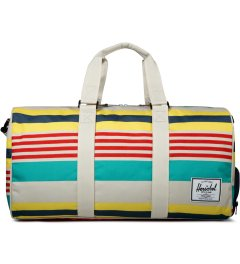 Herschel Supply Co. Malibu Stripe/Bone/Navy Novel Duffle Bag Picutre