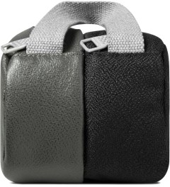 ULTRAOLIVE Black/Grey Pebble Double Pouch Model Picutre