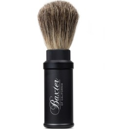 Baxter of California Aluminum Travel Badger Brush Picutre
