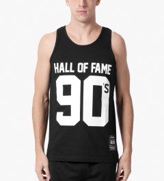 Hall of Fame Black 90's Tank Top Model Picutre
