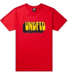 Undefeated Red Former SS T-Shirt Picutre