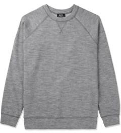 A.P.C. Grey Central Park Sweater Picutre