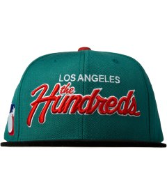 The Hundreds Turquoise Team Two Snapback Picutre