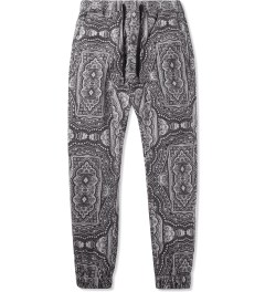 ZANEROBE Black Bandana Sureshot Pants Picutre