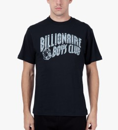 Billionaire Boys Club Peacoat S/S Milk & Sugar T-Shirt Model Picutre