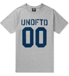 Undefeated Heather Grey 00 T-Shirt Picutre