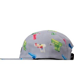 Primitive Grey Soaked 5-Panel Cap Model Picutre