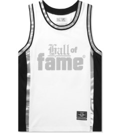 Hall of Fame White Nix Basketball Jersey Picutre