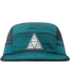 HUF Navy Woodgrain Scout Volley Cap Picutre