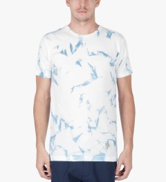 Mister Off White Mr. Sky Dye T-Shirt Model Picutre