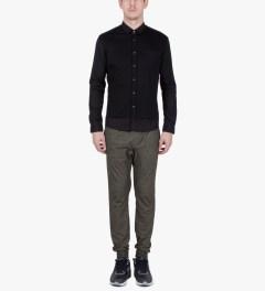 ZANEROBE Black Marle Slapshot Pants Model Picutre