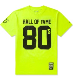 Hall of Fame Safety Green 80's T-Shirt Picutre