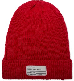 FUCT SSDD Red Cotton Watch Cap Picutre