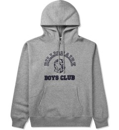 Billionaire Boys Club Grey Billionaire College Pop Over Hoodie Picutre