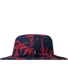 HUF Navy Bamboo Jungle Hat Model Picutre