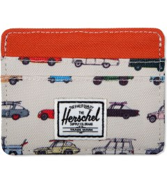 Herschel Supply Co. Synchro Red/Rad Cars Charlie Cardcase Picutre