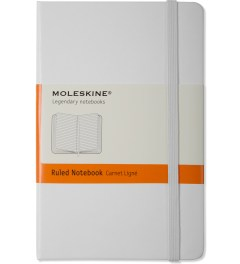 MOLESKINE White Ruled Pocket Size Notebook Picutre