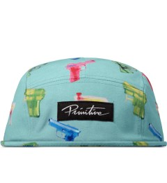 Primitive Aqua Soaked 5-Panel Cap Picutre