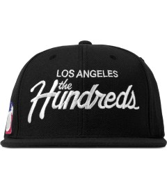 The Hundreds Black Forever Team Snapback Cap Picutre