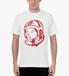 Billionaire Boys Club White/Lollipop S/S Helmet T-Shirt Model Picutre
