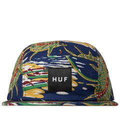 HUF Blue Souvenir Volley 5-Panel Cap Picutre