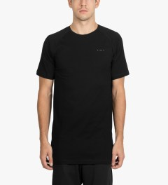Publish Black Penstall Oversized Length T-Shirt Model Picutre