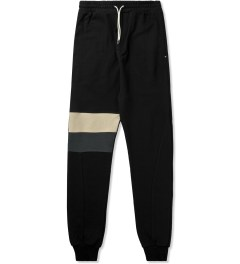 i love ugly. Black Panel Stripe Zespy Track Pants Picutre