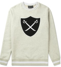 The Hundreds Ash Heather Mill Crewneck Sweater Picutre