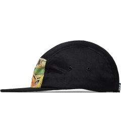 FTC Black Greeting Camp Cap Model Picutre
