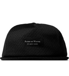 Raised by Wolves Black Pro-Style Mesh Richmond Snapback Cap Picutre