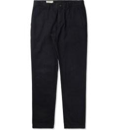 Maison Kitsune Petrol Slim Cut Pants Picutre