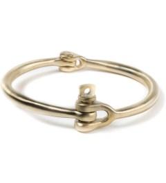 Miansai Brushed Reeve Brass Bracelet Picutre