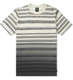 Stussy Black Fade Tom Tom Crewneck T-Shirt Picutre