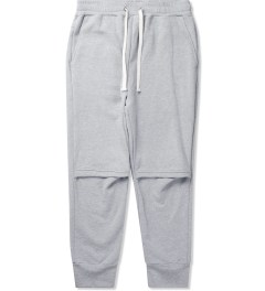 Drifter Heather Grey Cade Pleated Pants Picutre