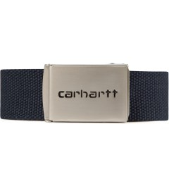 Carhartt WORK IN PROGRESS Jet Chrome Clip Belt Picutre