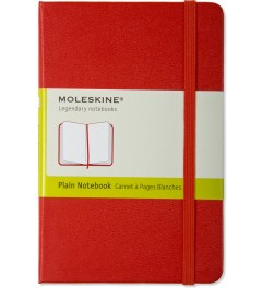 MOLESKINE Red Ruled Pocket Size Notebook Picutre
