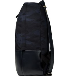 HAERFEST Blue Arch Backpack Model Picutre