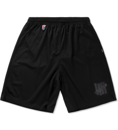 Undefeated Black Strike Basketball Shorts Picutre
