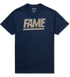 Hall of Fame Navy Fame Block Jumbotron T-shirt Picutre