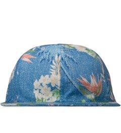 BWGH Blue Floral Print Cap Picutre