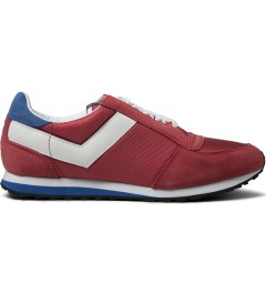 PONY Red/White Joggy Ox Nylon Sneakers Picutre