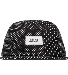 Publish Black Silas Polka Dot 5-Panel Camper Cap Picutre