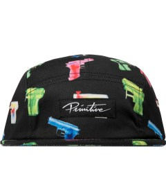 Primitive Black Soaked 5-Panel Cap Picutre